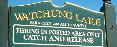 Catch and Release Only sign
